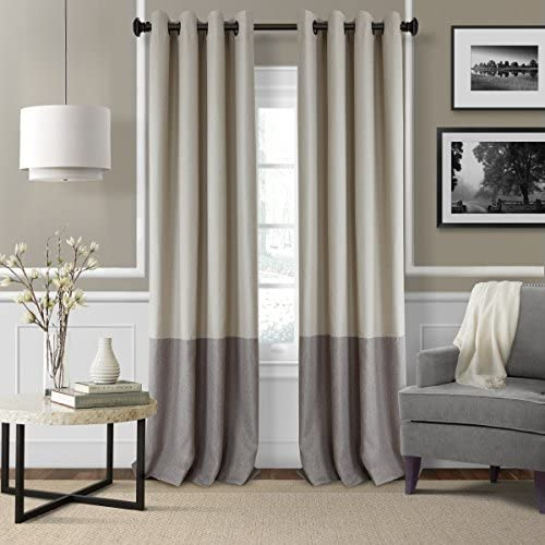 Cheap Elrene Home Fashions 26865874723 Braiden Room Darkening Grommet Window Curtain Drape Panel window curtain panel for sale