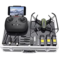 Potensic U36WH Drone With Camera, RC Quadcopter With Carrying Case 720P HD WiFi Live Video Altitude Hold & Headless Mode Function For Beginners …