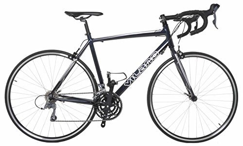 Vilano FORZA 4.0 Aluminum Integrated Shifters Road Bike, Black, 53cm/Medium Special Price