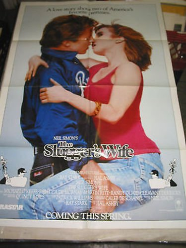 SLUGGER'S WIFE/ORIG. U.S. ONE SHEET MOVIE POSTER (REBECCA DEMORNAY/HAL - Slugger Store