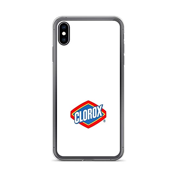 pretty nice 047f5 8d875 Amazon.com: iPhone XR Pure Clear Case Cases Cover clorox Bleach ...
