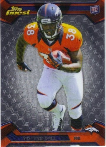 2013 Finest #120 Montee Ball RC - - Monte Center Del Stores