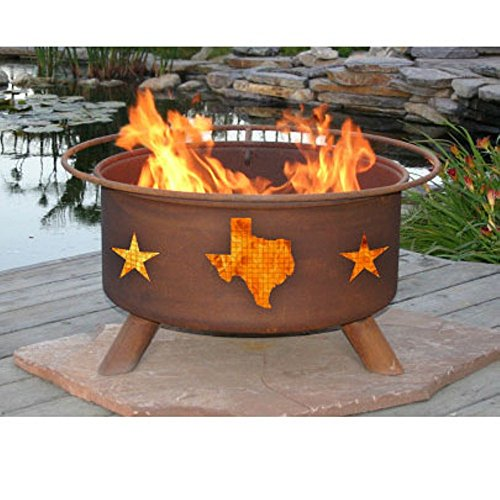 Patina Pits (Patina Products F102 Texas State and Stars Fire Pit)