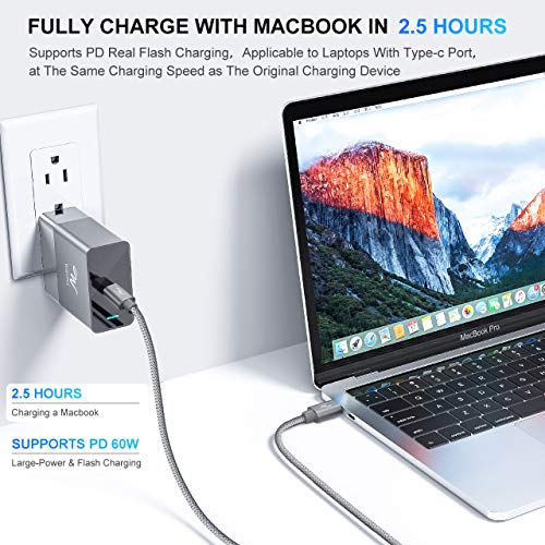 Wayona Type C to Type C Fast Charging Cable 3A USB Type C ...