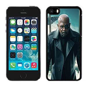 Fashion DIY Custom Designed iPhone 5C Generation Phone Case For Nick Fury Captain America The Winter Soldier Phone Case Cover