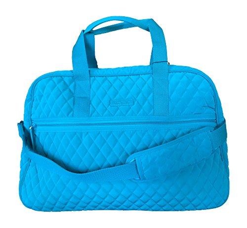 (Vera Bradley Medium Traveler Bag, Peacock Blue)
