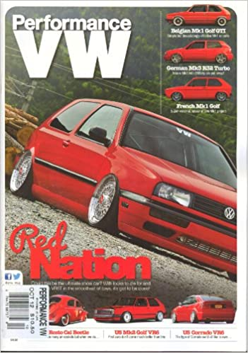 Performance VW (October 2012,German MK3 R32 Turbo) Single Issue Magazine – 2012