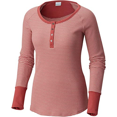 - Columbia Along The Gorge Thermal Henley - Women's Rose Dust, XS