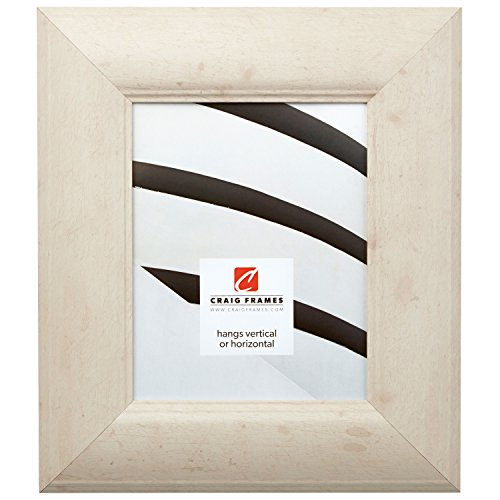Craig Frames 80012 24 by 36-Inch Picture Frame, Smooth Wrap Finish, 3-Inch Wide, Off-White Rustic Pine