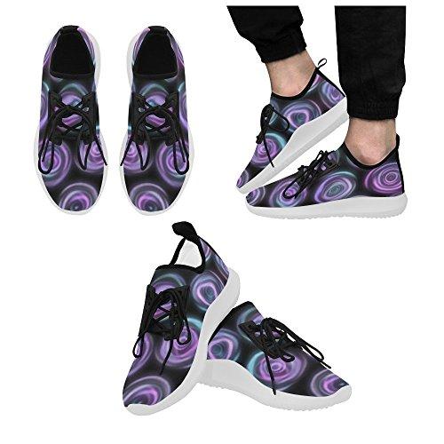 InterestPrint skull Dolphin Ultra Light Running Shoes for Men Banner 1 3T9JMyy
