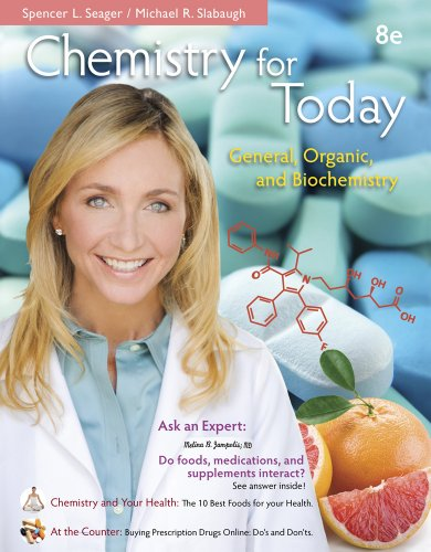 Chemistry for Today: General, Organic, and Biochemistry Pdf