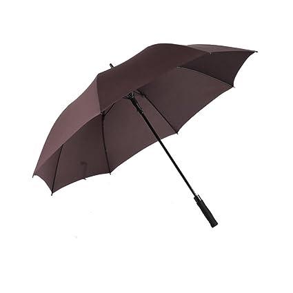NAN Sombrilla Paraguas Grande Para Mujeres Largas Resistente Al Viento Refuerzo Doble Tres Paraguas Paraguas Doble