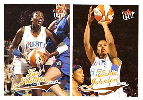 2004 Ultra WNBA (Profane 1-90) Basketball Team Set - New York Liberty