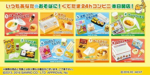 To prevent in until 24 h convenience store eight pieces shokugan / gum (to avoid in Saitama) by Re-Ment (Image #3)