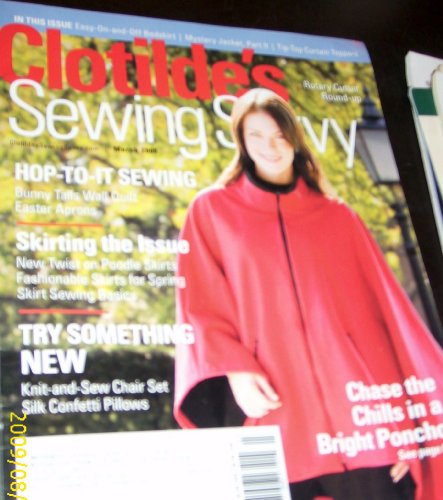 (Clotilde's Sewing Savvy, March 2006)