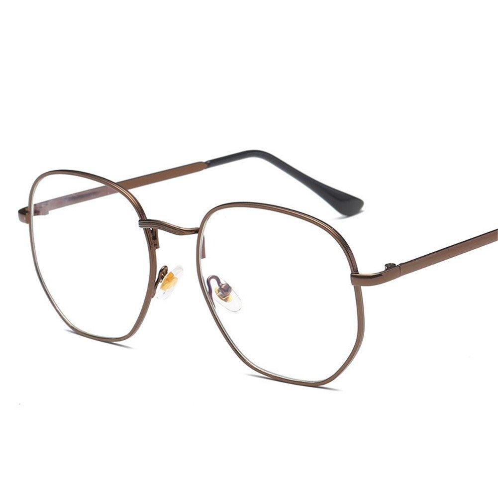 0c424f4116 Mujer Unisex Gafas Redondas Goggles Hombres Mujeres Gafas de Lentes  Transparentes Anteojos de Moda Retro Filtro ...