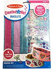 [US Deal] Save on Melissa & Doug Design-Your-Own Bracelets with 100+ Sparkle Gem and Glitter Stickers. Discount applied in price displayed.
