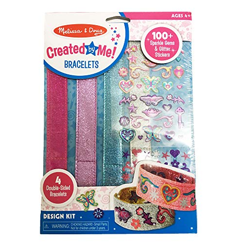 Melissa & Doug Design-Your-Own Bracelets (Arts & Crafts...