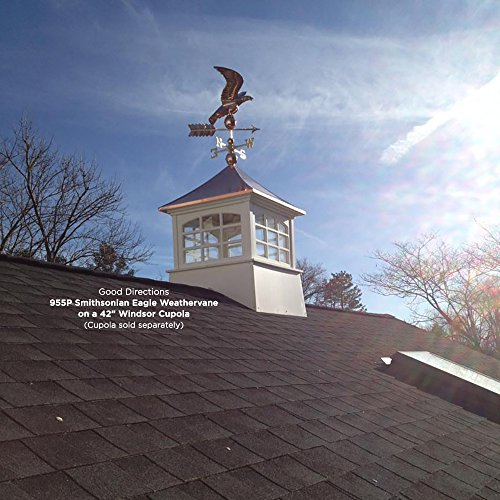 Good Directions Smithsonian Eagle Weathervane, Pure Copper by Good Directions (Image #3)
