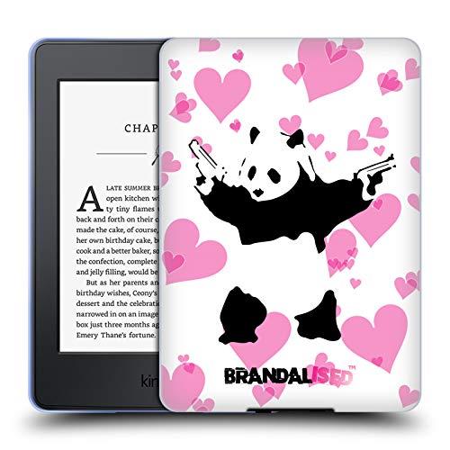 Official Brandalised Panda Guns Banksy Art Graffiti Soft Gel Case Compatible for Kindle Paperwhite 1/2 / 3 (Banksy Kindle Case)