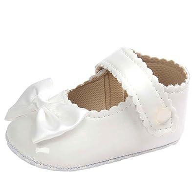 DAY8 Chaussure Bébé Fille Été Princesse Chaussure Bébé Fille Premier Pas  Bapteme Bowknot Fashion Chaussures Bébé 1c32a88f30a4