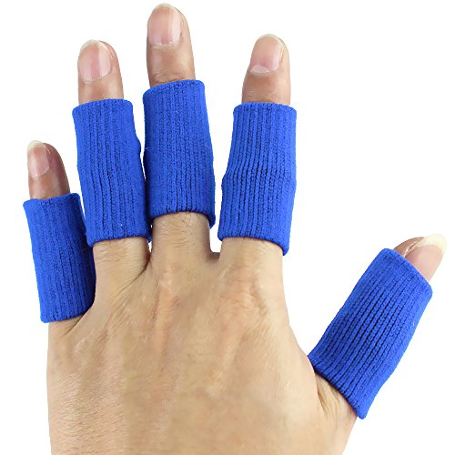 s Adjustable Toe Caps Medical Compression Brace Thumb Silicone Protector High Elastic Covers Foot Splint Guard for Ball Games, Relieving Pain Calluses Arthritis, Blue ()