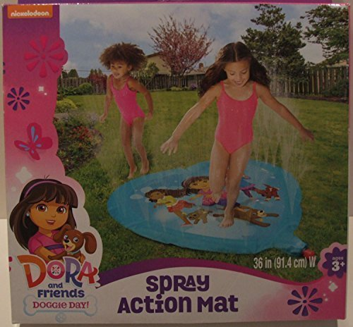 Dora & Friends Action Spray Mat Water Sprinkler
