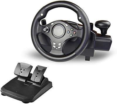 WRISCG Volante Racing USB Wheel Universal, Cambio Y Pedales (PS4 ...