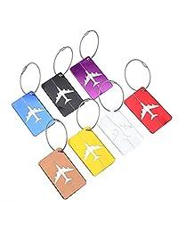 VGEBY 7pcs Etiquetas de Equipaje, veliz de Viaje idemtifier Etiquetas Bolsa Etiqueta Accesorios