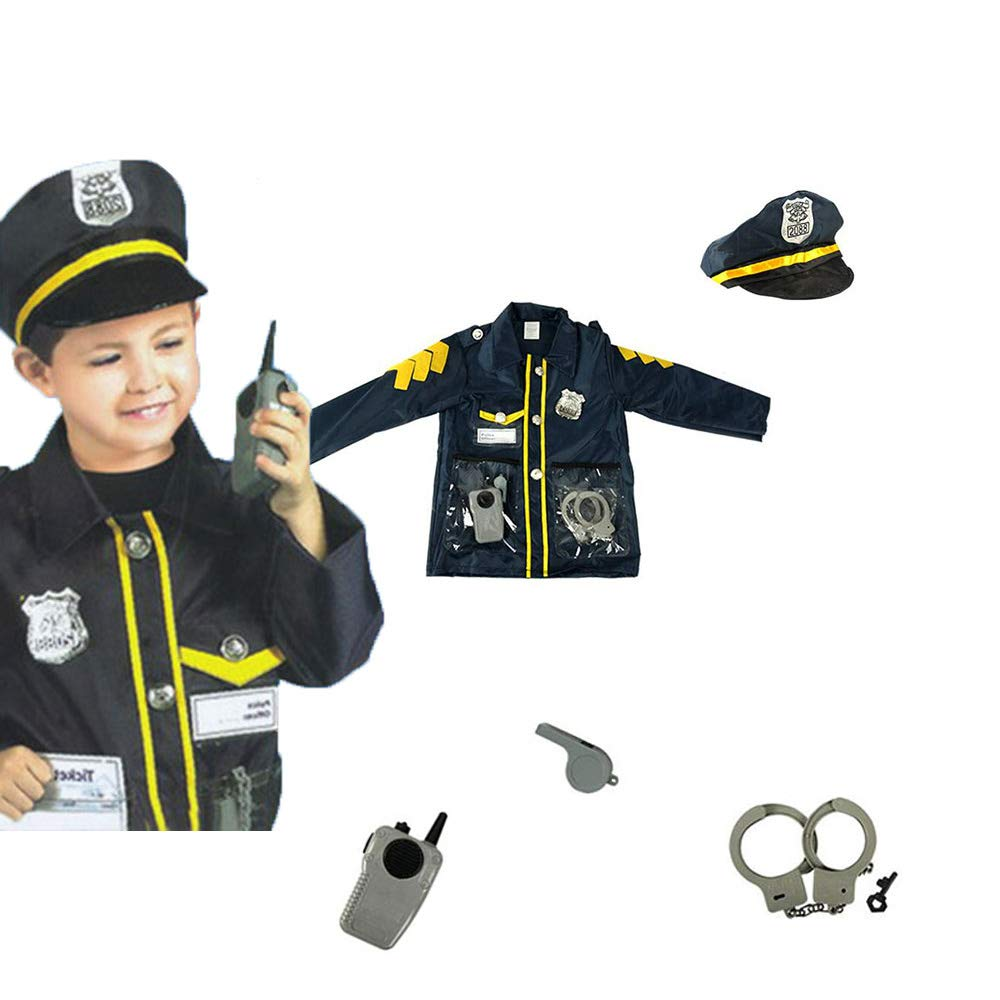 Kids Role Play Costume Set Leaning Pretend Halloween Costume 3-7 Years OUBEI
