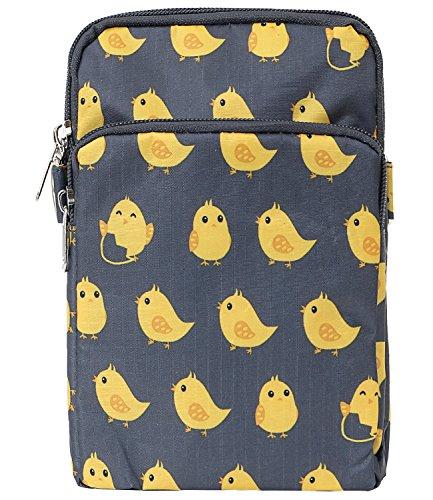 Shoulder Bag Strap Cross Mini Purse Bag ililily Body Pattern Pocket Lightweight Chick OqYwxz0g