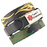 3 Bracelet Value Pack | Type 1 Diabetes, Medical