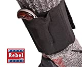 (US) Rebel Mini Derringer Ankle Holster - Proudly Made in the USA! (Fits most .22, .25, .32 North American Arms' Derringers)