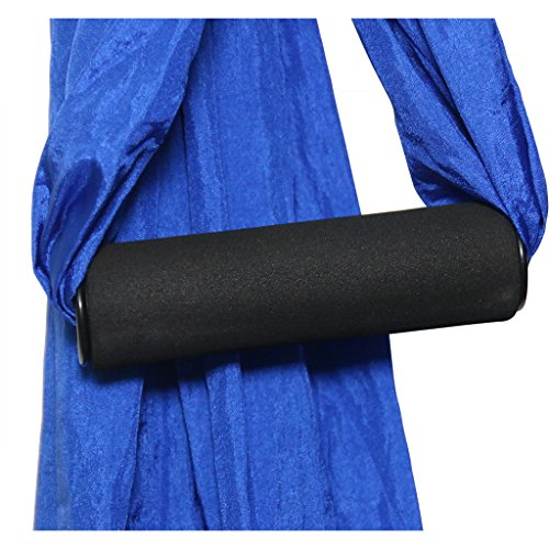 Parachute Fabric Aerial Yoga Swing,Ultra Strong Antigravity Yoga Hammock,Trapeze,Sling for Air Yoga Inversion wih 2 Extensions Straps by SIWA MARY (Image #4)