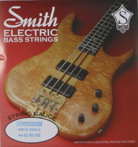 Ken Smith Electric Bass Compressor Nickel Iron Round Wound, .044 - .102, (Round Wound Double Bass Strings)