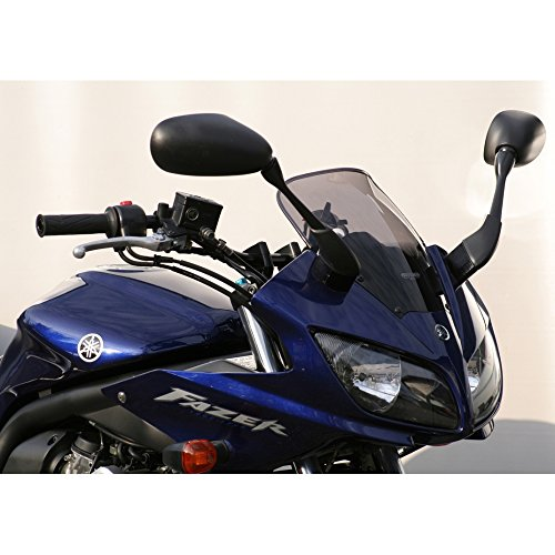 Windshield Mra Spoilerscreen (MRA SpoilerScreen Windshield for Yamaha FZ1 / FZS1000 Fazer, '01-'05 (SHADOW LINE BLACK))