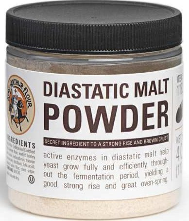 Diastatic Malt Powder 4 oz by King Arthur Flour