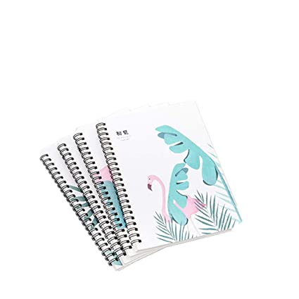 Amazon com: WRF A5 Coil Book Thickening Notebook Small Fresh