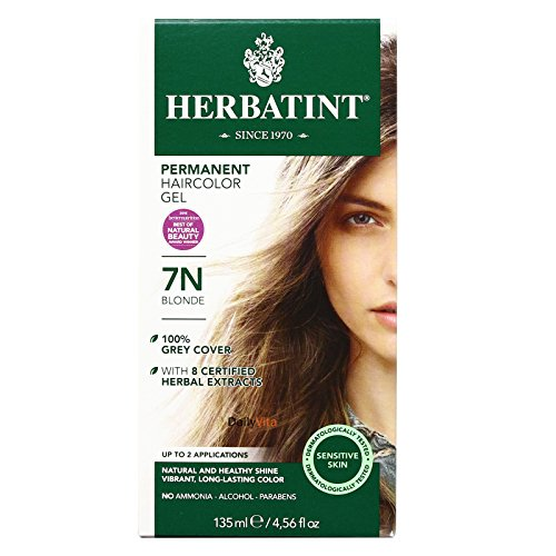 Price comparison product image Herbatint 7N Permanent Herbal Blonde Haircolor Gel Kit -- 3 per case.
