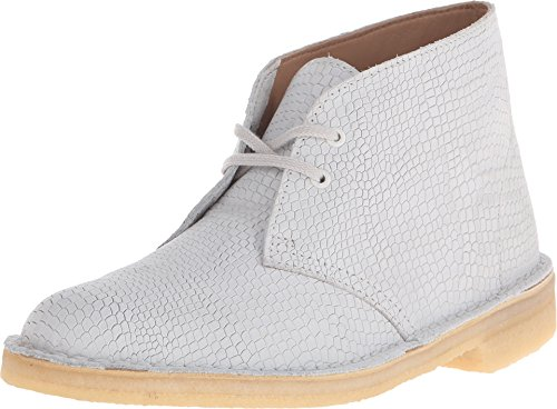 Clarks Desert Boot Lace-up Boot Off-White Snake