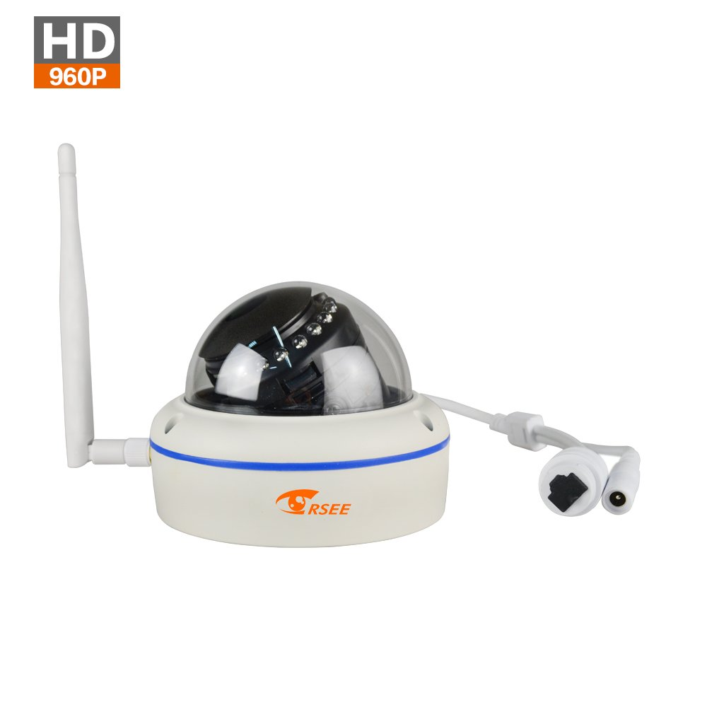 CORSEE Wireless IP Camera,960P HD Weatherproof Dome Camera (This Camera Must Match The CORSEE Wireless Surveillance Kit to Work) by corsee (Image #2)