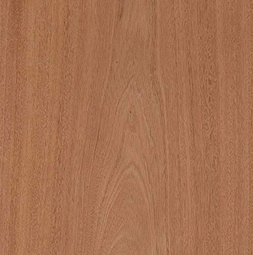 "Veneer Sheets for Restoration of Furniture Peel and Stick Easy Application with 3M Self Adhesive Oak Veneer Sheet 24/"" x 96/"" Edge Supply Mahogany Wood Veneer Sheet Flat Cut /""A/"" Grade Veneer Face"