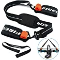 Fireor Pole and Boot Carry Sling Ski Carrier Strap Kit