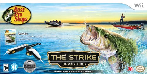 Bass Pro Shops - The Strike Bundle - Nintendo Wii by XS Games