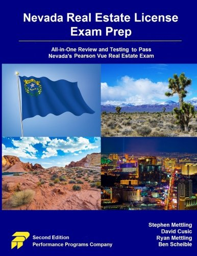 Nevada Real Estate License Exam Prep: All-in-One Review and Testing to Pass Nevada's Pearson Vue Real Estate Exam