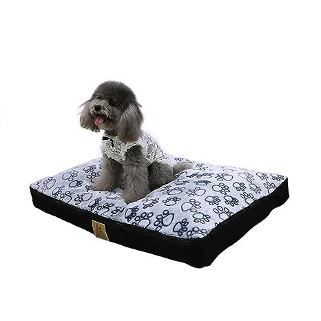 LOSY PET Cama para Perro Impermeable y Lavable 80 x 60 x 8cm ...