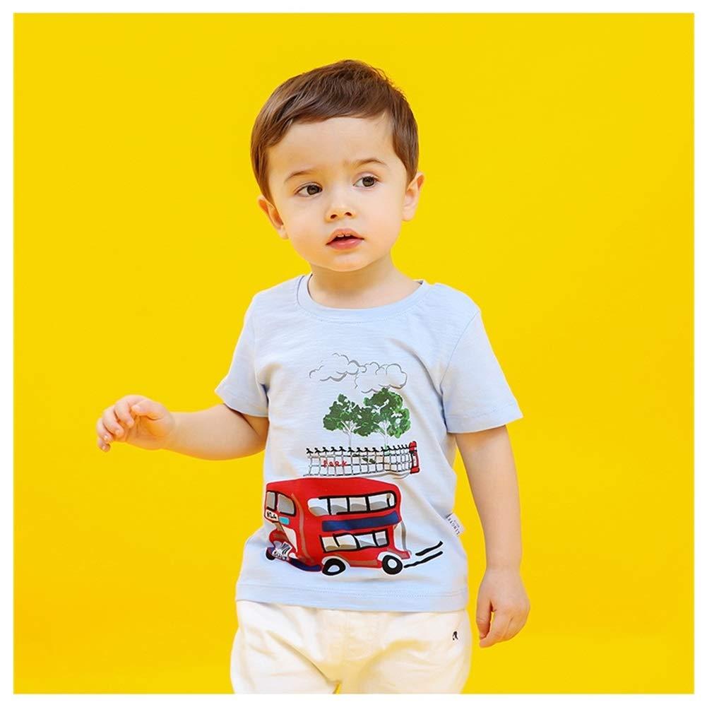 Upkochanie Little Boys Cute Print Short Sleeve T-Shirt