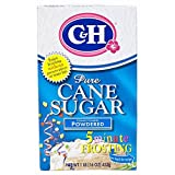 C&H: Pure Cane Powdered Confectioners Sugar, 1 Lb