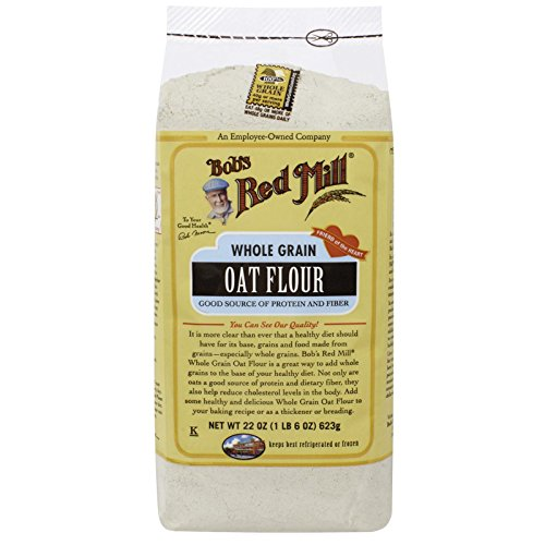 Bob's Red Mill, Whole Grain Oat Flour, 22 oz(Pack of 3) by BOBS RED MILL