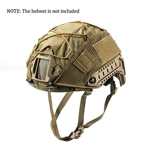 OneTigris Multicam Helmet Cover - No Helmet (for Ops-Core Fast PJ Helmet in Size M/L & OneTigris PJ/MH Helmet in Size M/L)]()